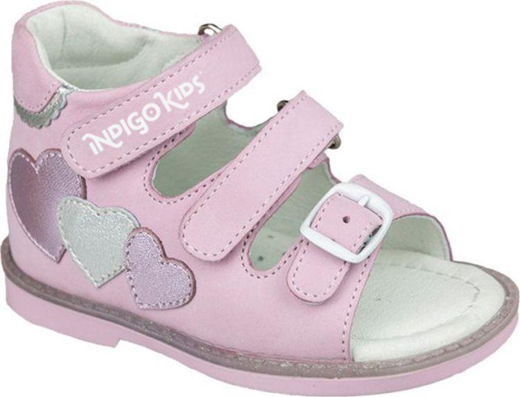 Сандалии Indigo Kids сандалии для девочки indigo kids цвет серебристый 21 446a 12 размер 30