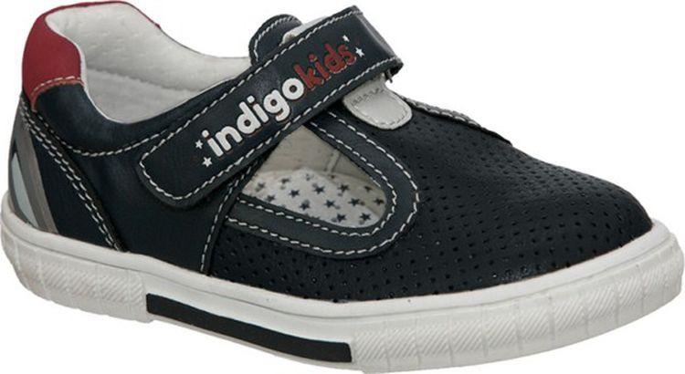Полуботинки для мальчика Indigo Kids, цвет: синий. 40-091A/12. Размер 2540-091A/12