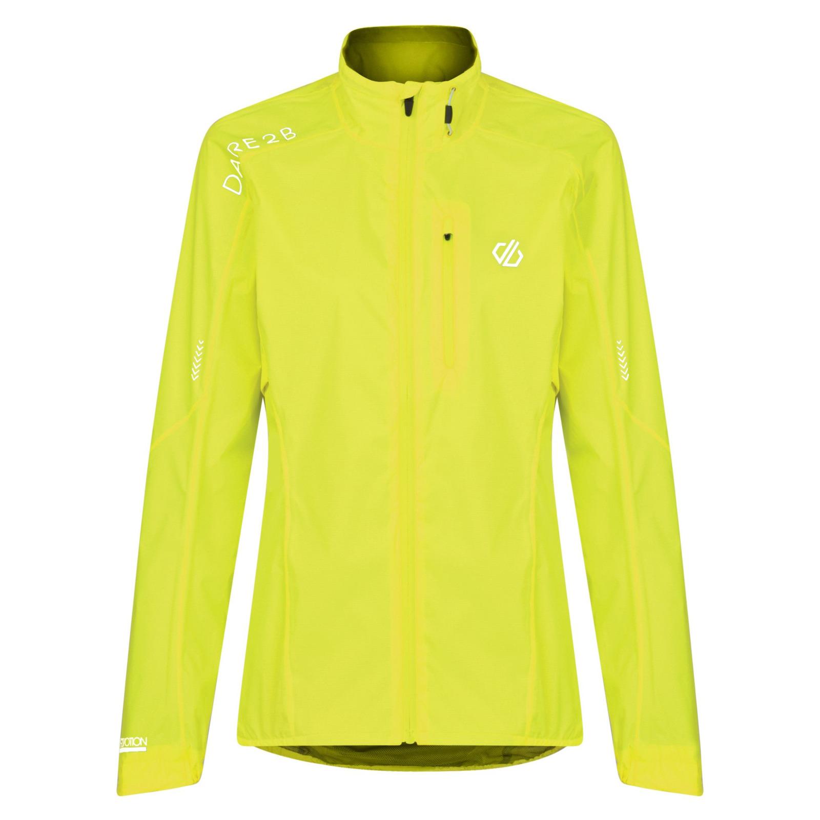 Велокуртка женская Dare 2b Wmn Mediant Jkt, цвет: желтый. DWW456-0M0. Размер 10 (42)
