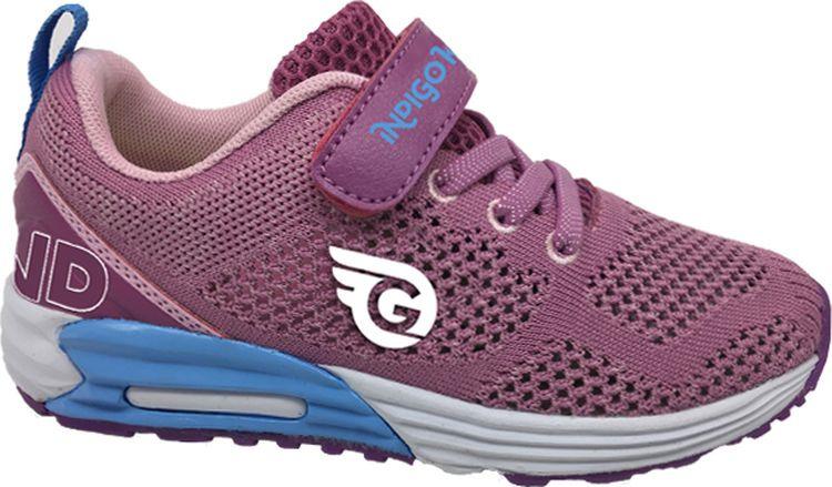 Кроссовки для девочки Indigo Kids, цвет: сиреневый. 90-202A/12. Размер 32 кроссовки для девочки м д цвет черный 8988 1 размер 32