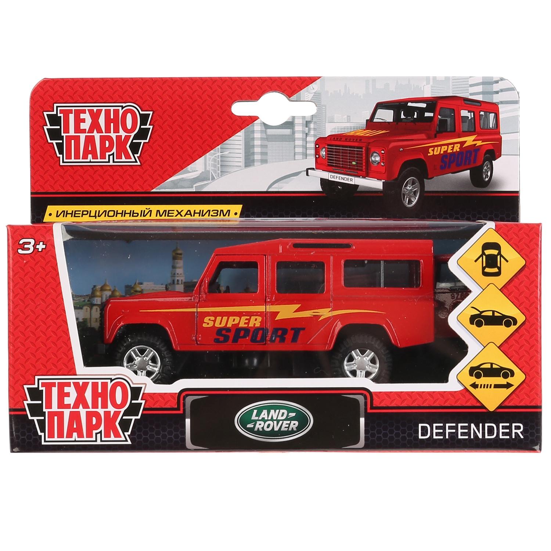 Машинка-игрушка Технопарк DEFENDER-S bburago коллекционная машинка bburago land rover defender 110 1 50
