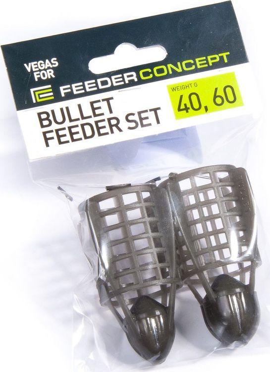 Кормушка для рыбы Feeder Concept Vegas Bullet, 7008-046, 2 шт