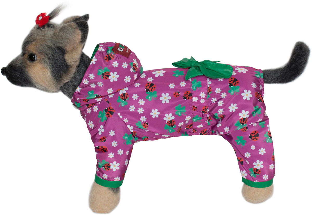 Комбинезон для собак Dogmoda Божья коровка, DM-190070-2, размер 2 (M)