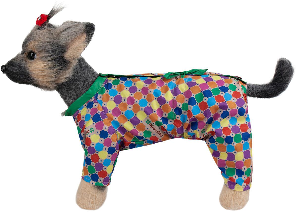 Комбинезон для собак Dogmoda Мозайка, DM-190071-2, размер 2 (M)
