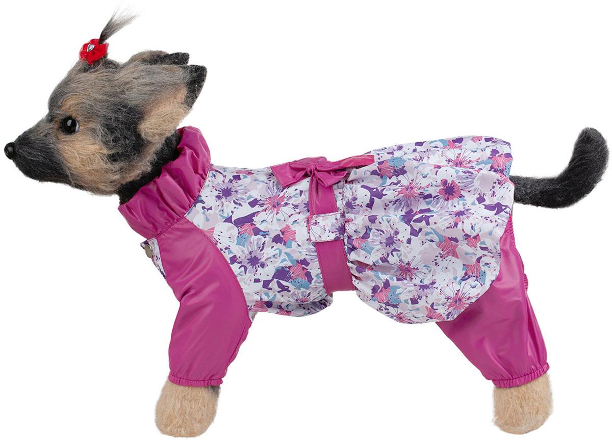 Комбинезон для собак Dogmoda Настроение Цветы, DM-190072-2, размер 2 (M)