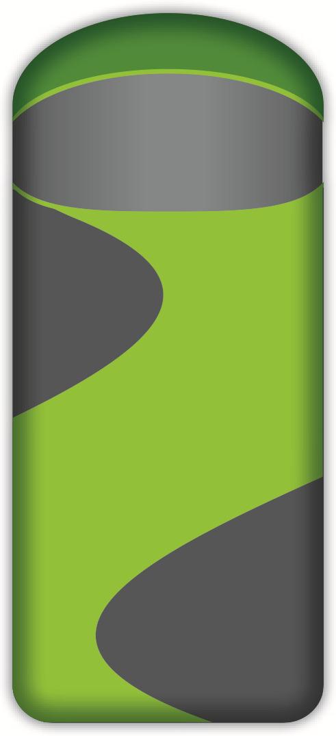 Спальный мешок-одеяло Norfin Scandic Comfort Plus 350 NF L, NF-30211, зеленый