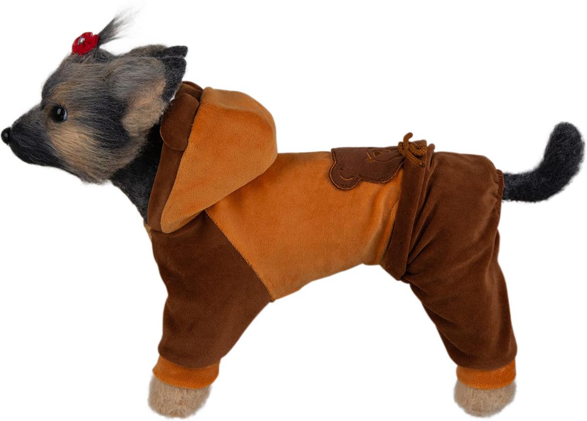 Комбинезон для собак Dogmoda Мишка, DM-190079-4, размер 4 (XL) комбинезон для собак dogmoda грин унисекс цвет зеленый синий белый размер 4 xl