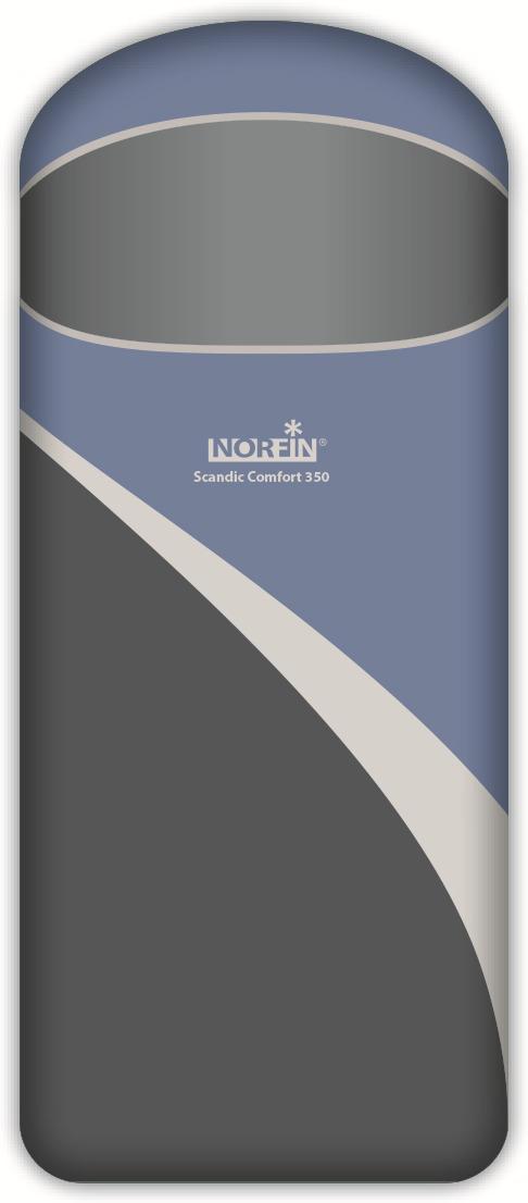 Спальный мешок-одеяло Norfin Scandic Comfort 350 NFL R, NFL-30210, синий