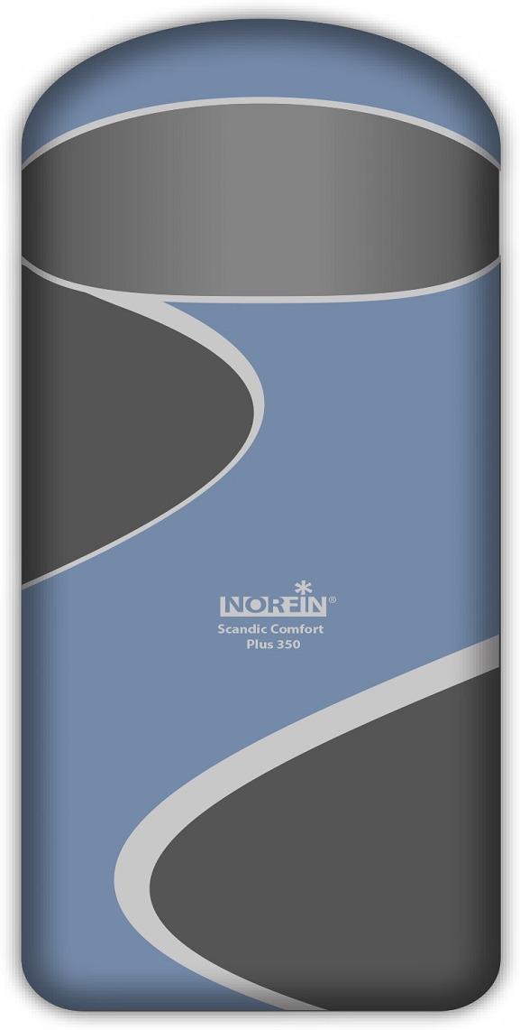 Спальный мешок-одеяло Norfin Scandic Comfort Plus 350 NFL R, NFL-30214, синий цена