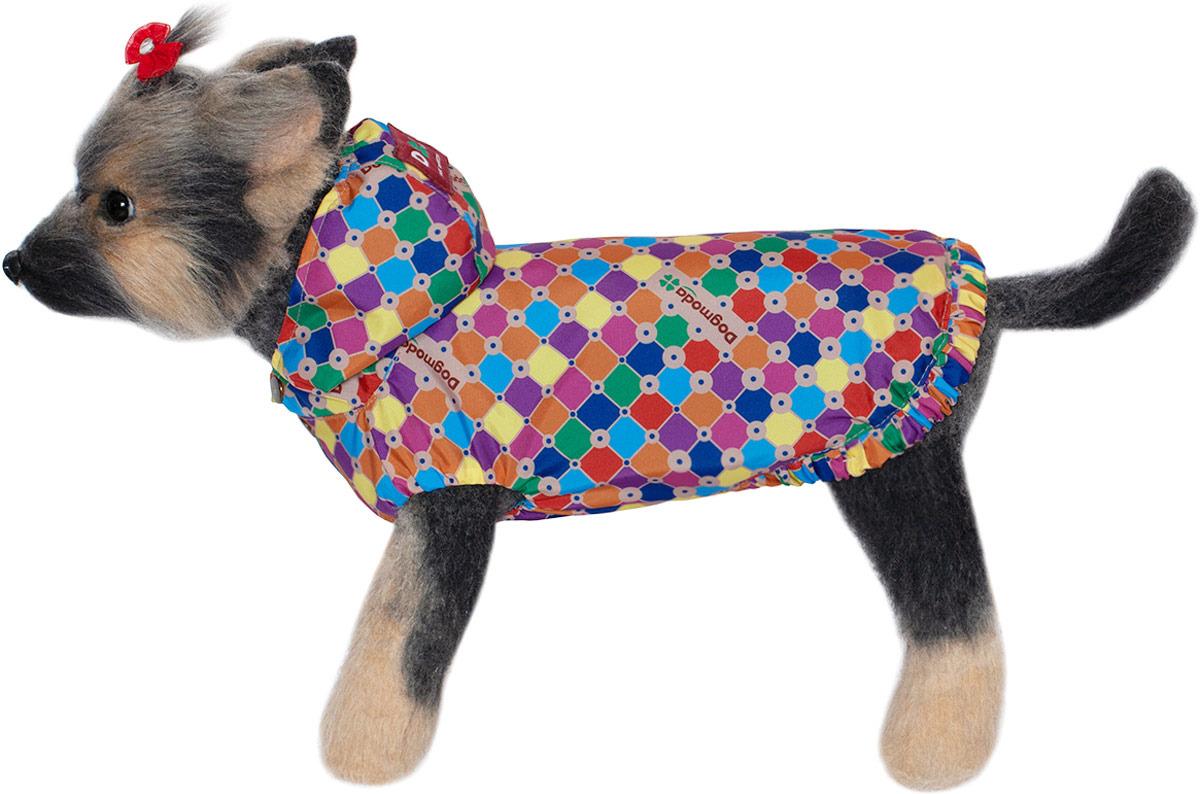 Куртка для собак Dogmoda Мозайка, DM-190083-2, размер 2 (M)