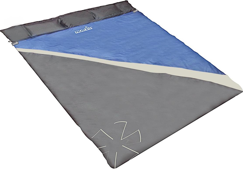 Спальный мешок-одеяло Norfin Scandic Comfort Double 300 NFL, NFL-30225, синий цена