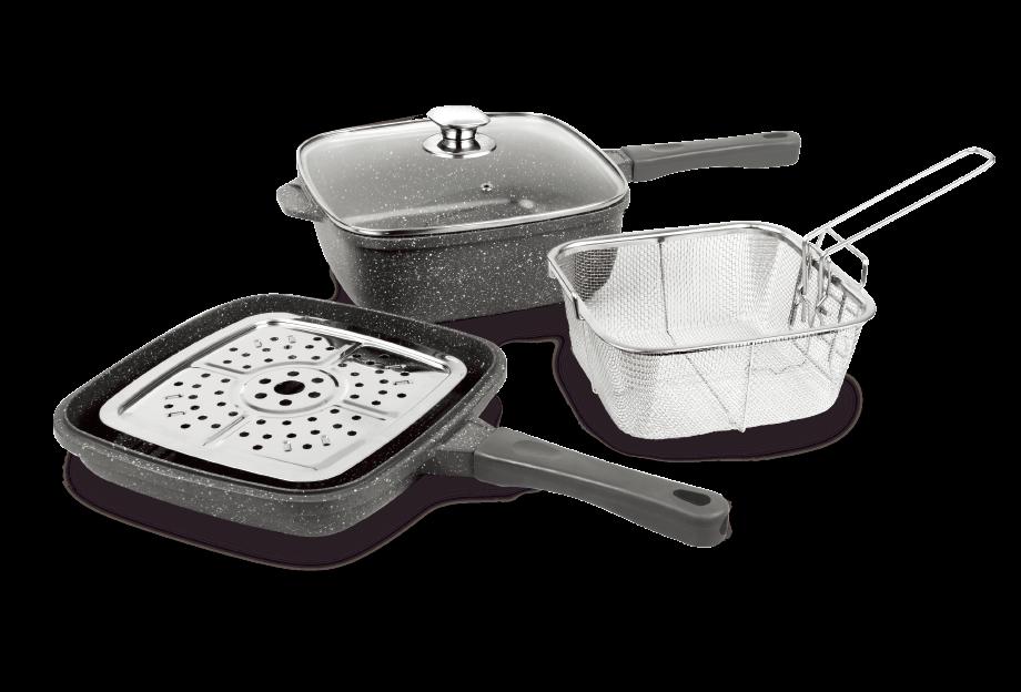 Набор посуды для приготовления Eurostek EDA-5124