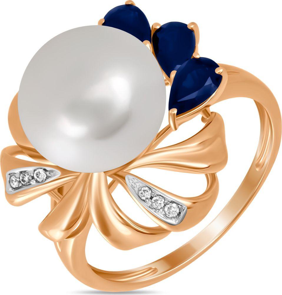 Кольцо Лукас, золото 585, бриллиант, жемчуг, сапфир, 17,5, R01-D-R59462-SACPЗолотоЮвелирное изделие -Кольцо цвет золота золотой c миксом драгоценных камней. Вставки:6 Бр. Кр-57-0.03 3/7А_1 Жемчуг культ. -6.67_3 Сапфир -0.82 3/3Изделия из золота необходимо снимать при физической нагрузке и занятиями спортом. Золото это мягкий металл и легко деформироваться, поцарапается при надавливании. Чтобы избежать темных пятен на золотых украшениях от соприкосновения с влажной кожей, протирайте изделия замшей или фланелью каждый раз, когда их снимаете.Изделия с природными вставками следует беречь от воздействия быстроменяющихся температур и длительного пребывания вблизи источников тепла и света. Чистку изделий проводить в растворе воды с нашатырным спиртом (5-10 капель спирта на стакан воды)Так же изделия можно поместить на несколько часов в теплый раствор стирального порошка. После промыть чистой водой и просушить. Самым эффективным способом является уход за изделиями с использованием ювелирной косметики.• Не замеряйте замерзшие пальцы, в этот момент их размер отличается от обычного. Для точного определения размера, замеряйте ваш палец в конце дня, когда его размер является наибольшим.• Определите, размер какого пальца вам необходимо узнать. Помолвочные и обручальные кольца принято носить на безымянном пальце правой руки. • Если вам подходят два размера, стоит выбрать больший.• Если сустав шире самого пальца – измеряйте диаметр сустава. • Если вы хотите приобрести кольцо с ободком шире 4 мм, его размер должен быть примерно на полразмера больше обычного.»Изделия из зол...