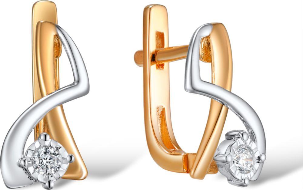Серьги Лукас, золото 585, бриллиант, E01-D-E309228DIAЗолотоЮвелирное изделие -Серьги цвет золота золотой c драгоценным камнем. Вставки:2 Бр. Кр-57-0.04 4/7АИзделия из золота необходимо снимать при физической нагрузке и занятиями спортом. Золото это мягкий металл и легко деформироваться, поцарапается при надавливании. Чтобы избежать темных пятен на золотых украшениях от соприкосновения с влажной кожей, протирайте изделия замшей или фланелью каждый раз, когда их снимаете.Изделия с природными вставками следует беречь от воздействия быстроменяющихся температур и длительного пребывания вблизи источников тепла и света. Чистку изделий проводить в растворе воды с нашатырным спиртом (5-10 капель спирта на стакан воды)Так же изделия можно поместить на несколько часов в теплый раствор стирального порошка. После промыть чистой водой и просушить. Самым эффективным способом является уход за изделиями с использованием ювелирной косметики.Изделия из золота необходимо снимать при физической нагрузке и занятиями спортом. Золото это мягкий металл и легко деформироваться, поцарапается при надавливании. Чтобы избежать темных пятен на золотых украшениях от соприкосновения с влажной кожей, протирайте изделия замшей или фланелью каждый раз, когда их снимаете.Изделия с природными вставками следует беречь от воздействия быстроменяющихся температур и длительного пребывания вблизи источников тепла и света. Чистку изделий проводить в растворе воды с нашатырным спиртом (5-10 капель спирта на стакан воды)Так же изделия можно поместить на несколько часов в теплый р...