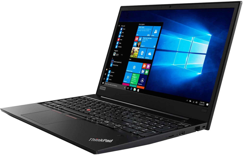15.6 Ноутбук Lenovo ThinkPad E580 20KS007GRT, черный ноутбук lenovo thinkpad edge e580 20ks007frt