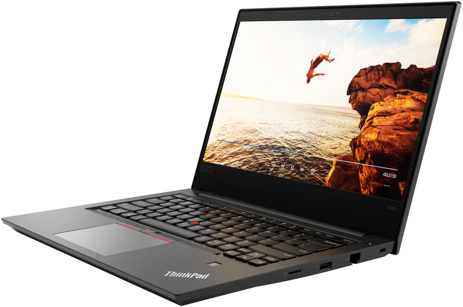 14 Ноутбук Lenovo ThinkPad E480 20KN0075RT, черный ноутбук lenovo thinkpad e480 20kn0075rt