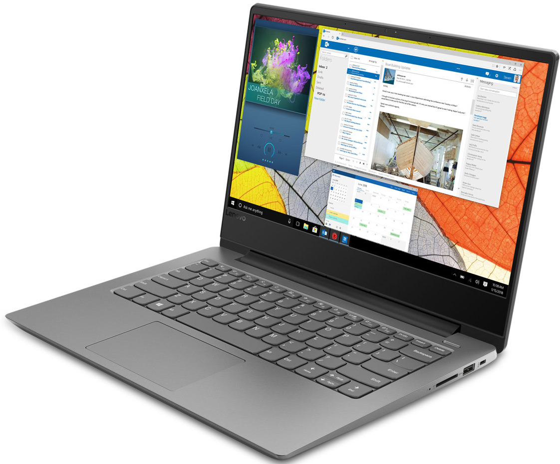 14 Ноутбук Lenovo IdeaPad 330S-14IKB 81F4013URU, серый легкий ноутбук