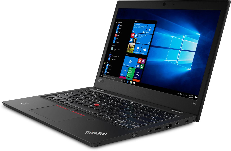 13 Ноутбук Lenovo ThinkPad L380 Clam 20M50011RT, черный ноутбук lenovo thinkpad l380 clam 20m5001yrt