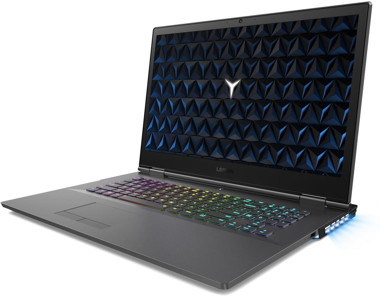 17.3 Игровой ноутбук Lenovo Legion Y730-17ICH 81HG003ERU, черный игровой ноутбук за 699 990 рублей