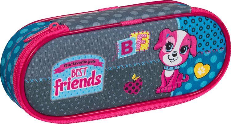 Пенал Berlingo Best Friends, корпусный, PM04608, 21,5 х 9 х 4,5 см для офиса пластиковые окна заказать с верхней откидной фрамугой