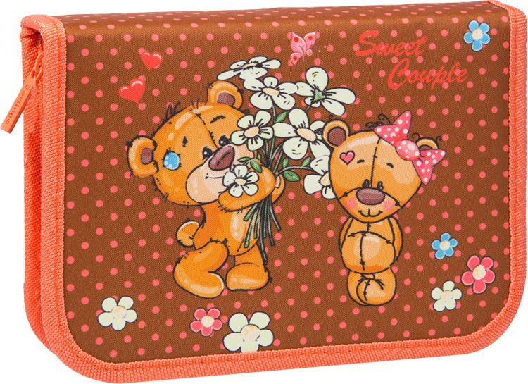 Пенал Berlingo Lovely Bears, PK06028, 20 х 14 2 см