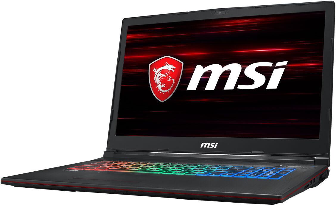 Игровой ноутбук MSI GP73 Leopard 8RE 9S7-17C522-692, черный