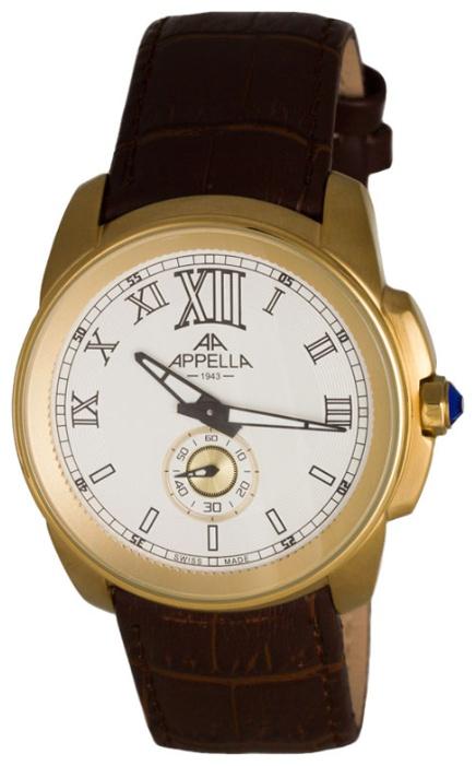 Часы Appella AP.4413.01.0.1.01, золотой appella часы appella 4382 43 1 0 04 коллекция ceramic