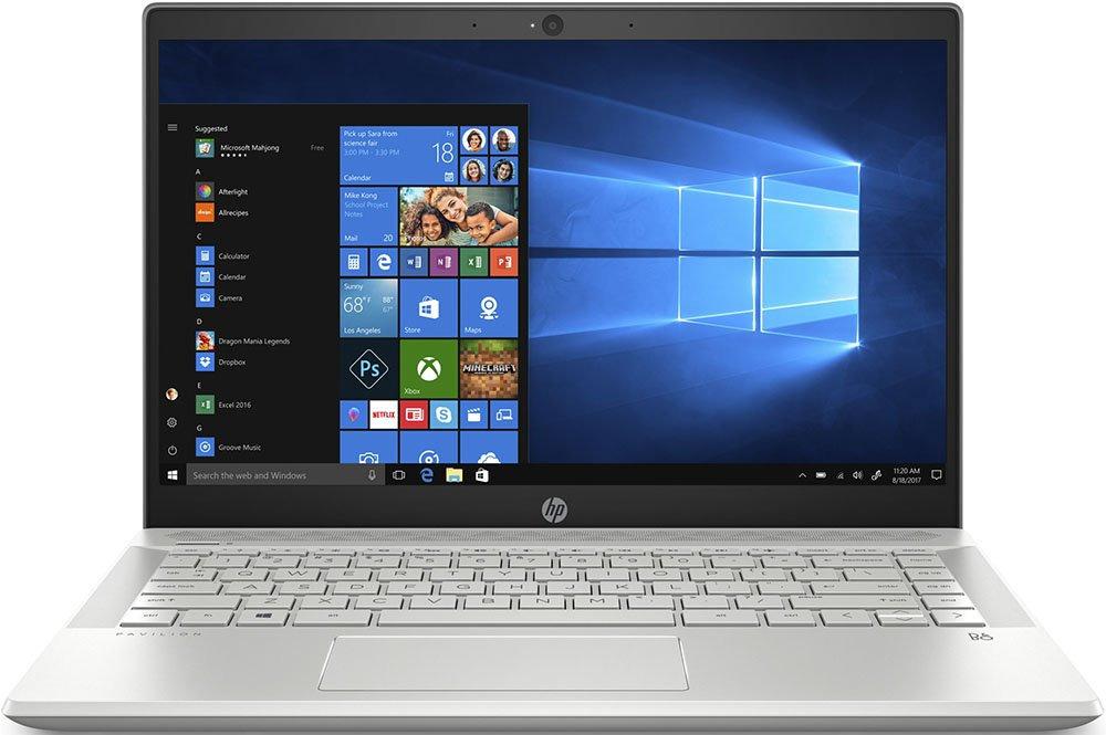 14 Ноутбук HP Pavilion 14-ce0013ur 4HE96EA, серебристый ноутбук цена качество