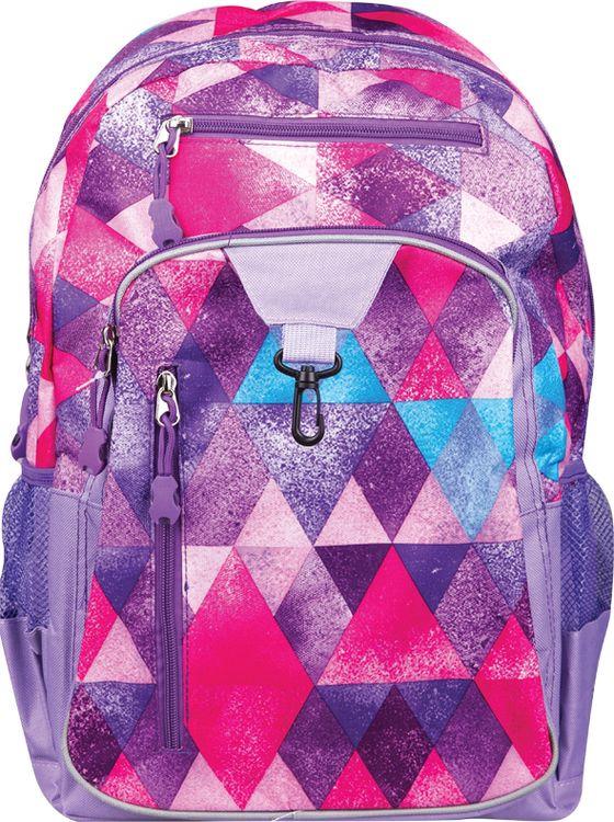 Школьный рюкзак Спейс ArtSpace Pattern, Ch_16878, фиолетовый