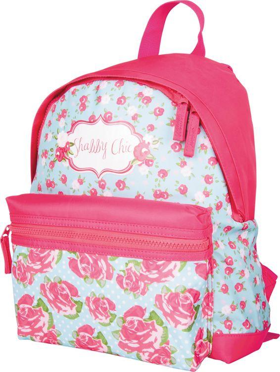 Рюкзак детский Berlingo Nice Shabby Chic, RU038097, красный цена и фото