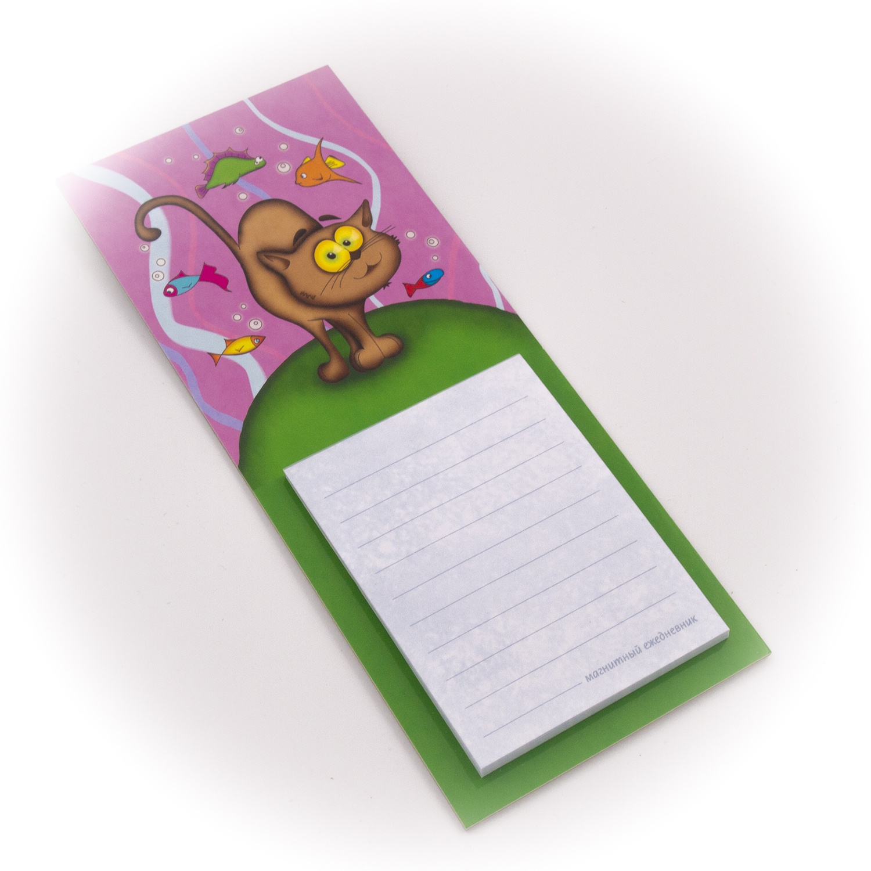 Бумага для заметок С Минимакс Кот и Рыбки, 32 бумага для заметок с минимакс медный всадник зима 32