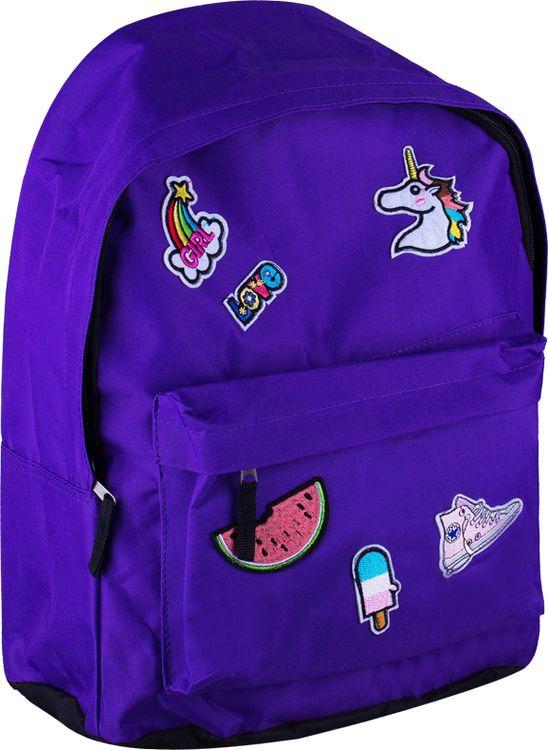Школьный рюкзак Спейс ArtSpace Pattern, Sch_18085, фиолетовый