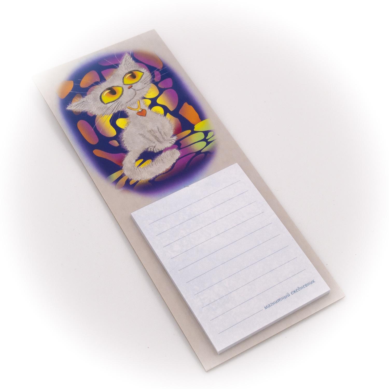 Бумага для заметок С Минимакс Кошка с желтыми глазами, 32 бумага для заметок с минимакс медный всадник зима 32