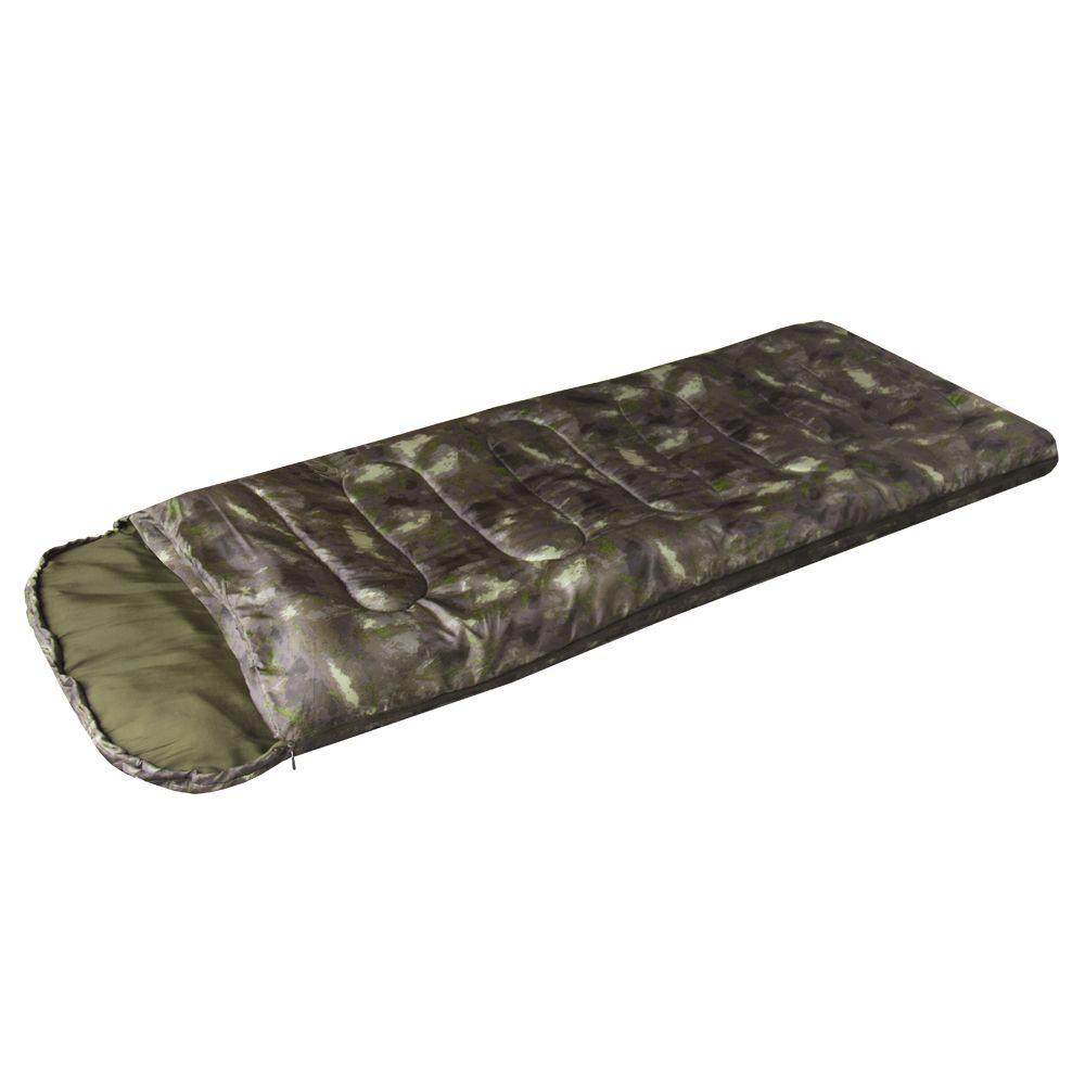 Спальный мешок Prival Camp bag плюс камуфляж К2, молния справа, 220х70 см цена