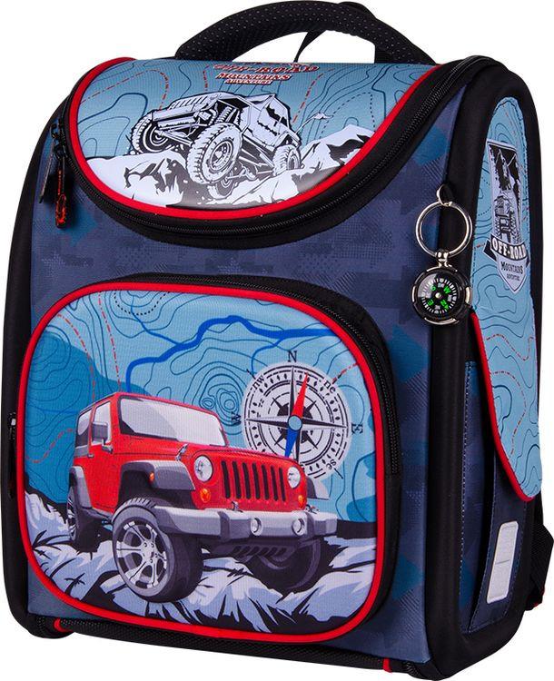 Школьный ранец Berlingo Ultra Compact Cross-Country, с наполнением, RU045107
