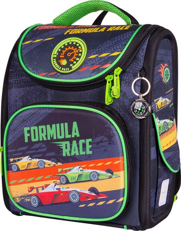 Школьный ранец Berlingo Ultra Compact Formula Race, с наполнением, RU045110