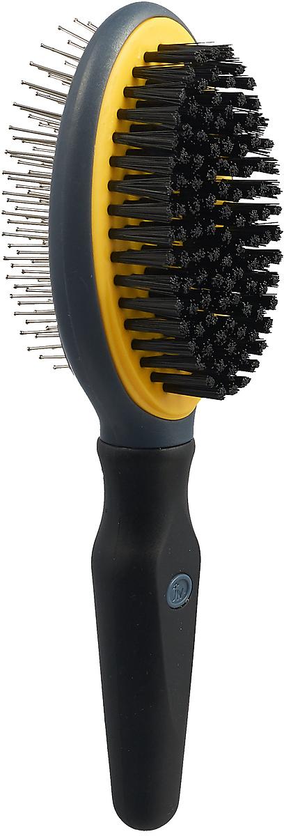 Щетка для собак J.W. Grip Soft Double Sided Brush, JW65029, двухсторонняя