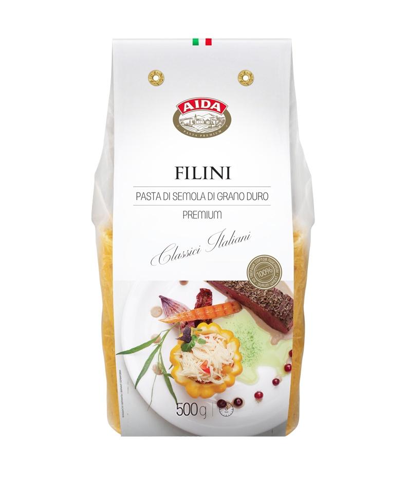 Макаронные изделия AIDA Filini/Вермишель, 500 г
