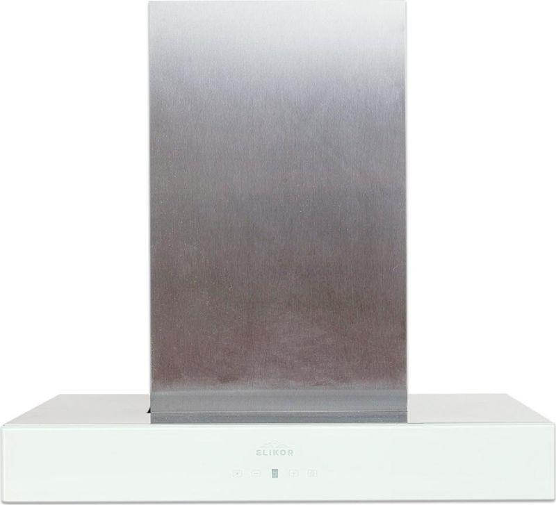 "Вытяжка каминная Elikor ""Агат"" 60Н-1000-Е4Д, нержавеющая сталь/белый"