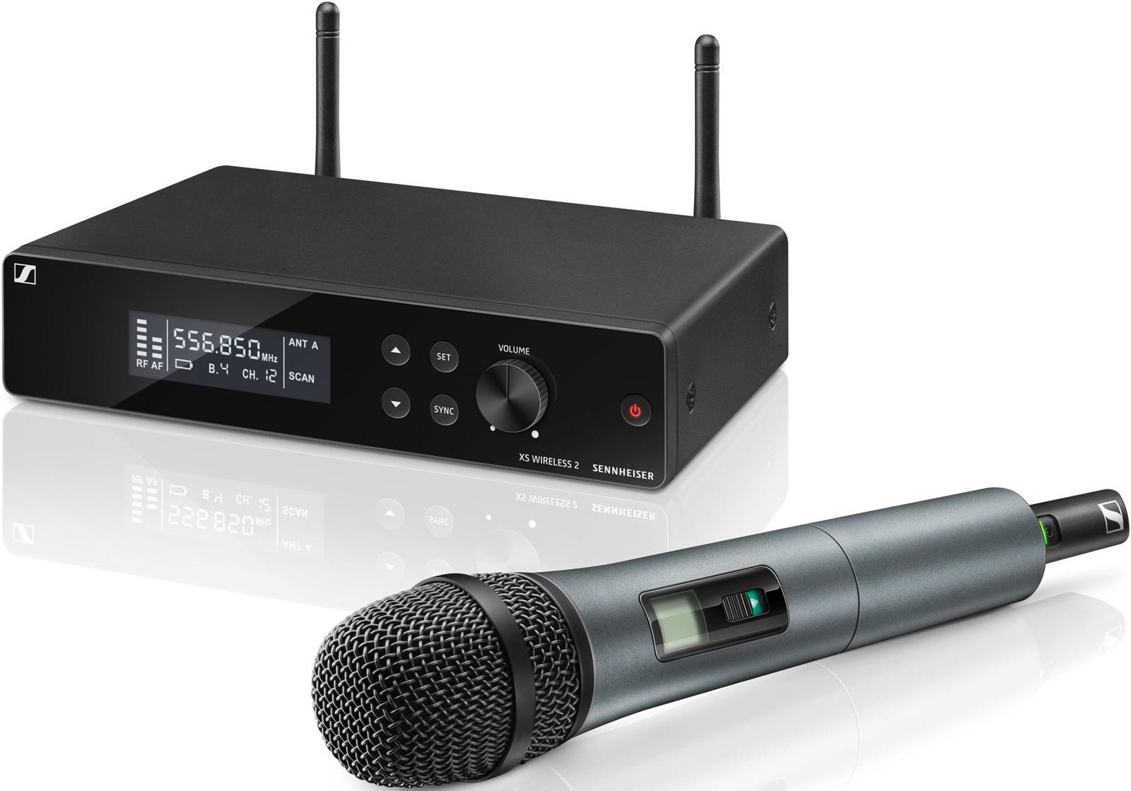 Микрофон Sennheiser XSW 2-865-B цена 2017