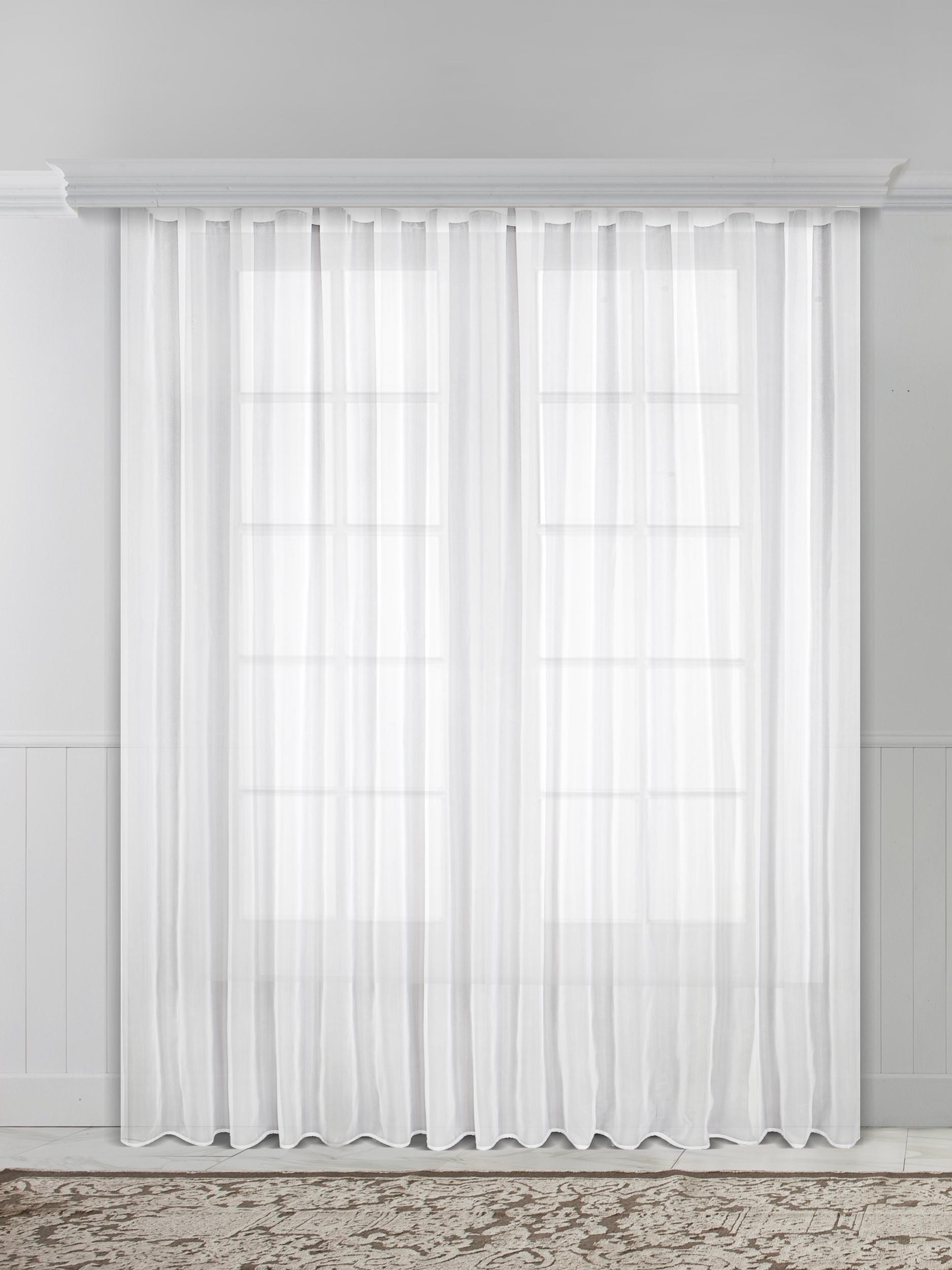 Тюль Raccolto 04518-И, белый недорго, оригинальная цена