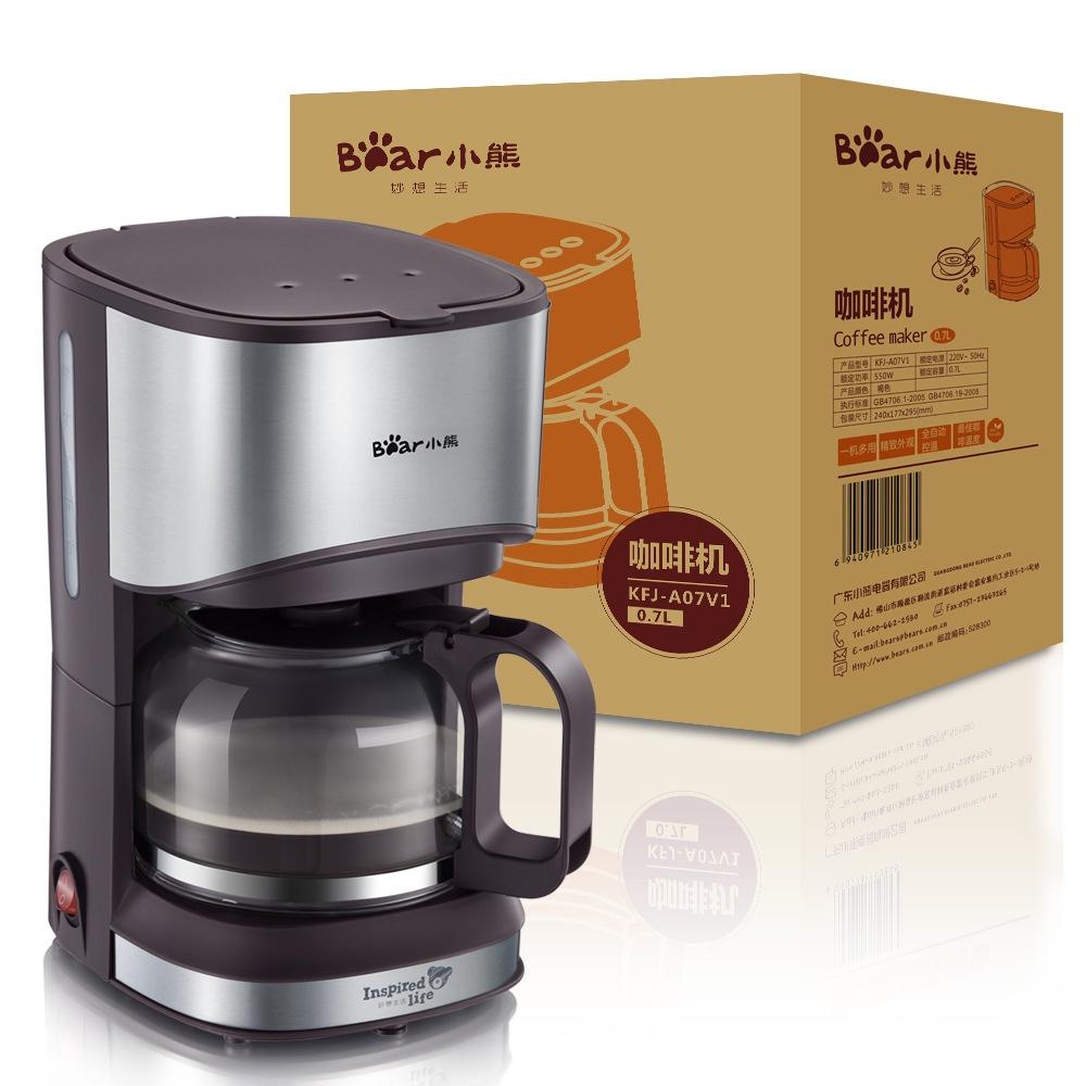 Кофемашина  8000897401 Бренд: BearBear Model: KFJ-A07V1Объем: (чашек)4-5...