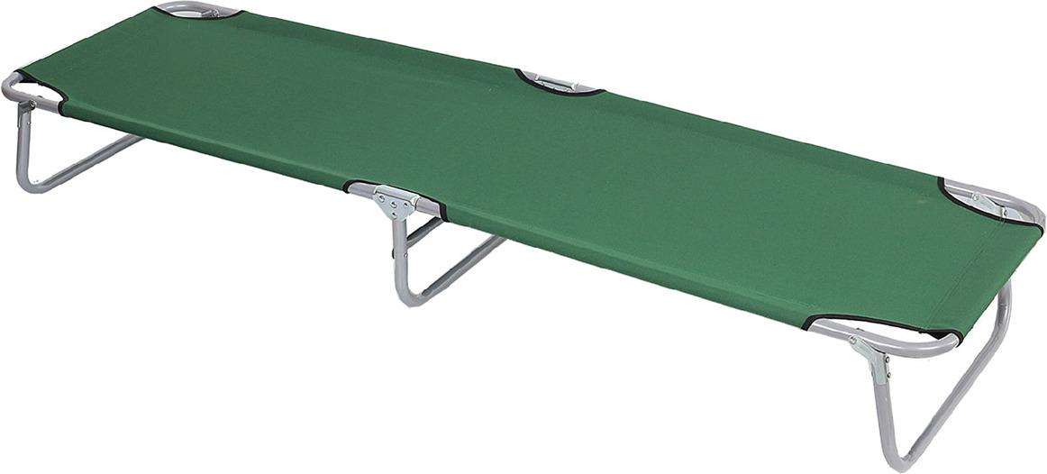 Раскладушка туристическая Maclay, 134138, зеленый, до 100 кг