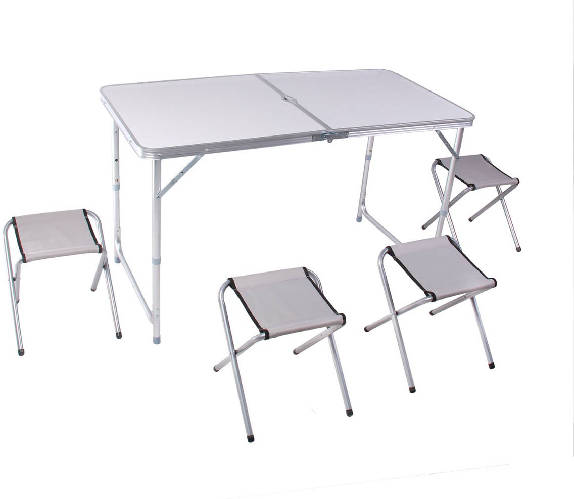 Набор мебели туристической, стол + 4 стула, 134181
