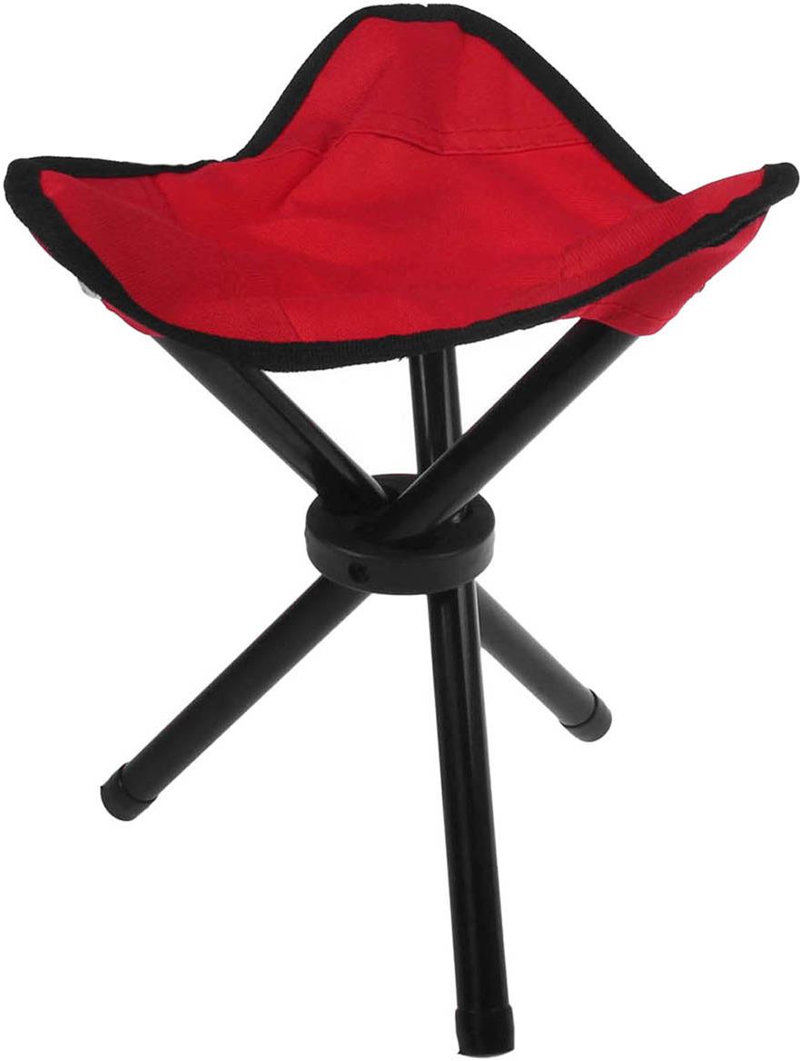 Стул туристический Maclay, треугольный, 134188, красный, до 60 кг стул onlitop складной red 134188