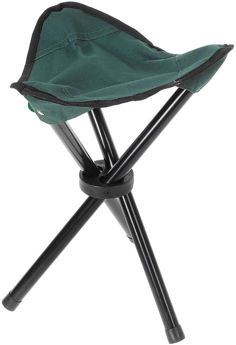 Стул туристический Maclay, треугольный, 134190, зеленый, до 60 кг
