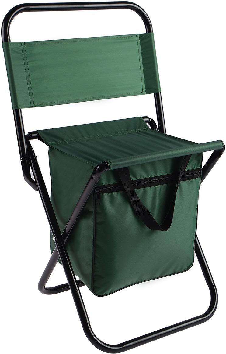 Стул туристический Maclay, с сумкой, 488612, зеленый, до 60 кг
