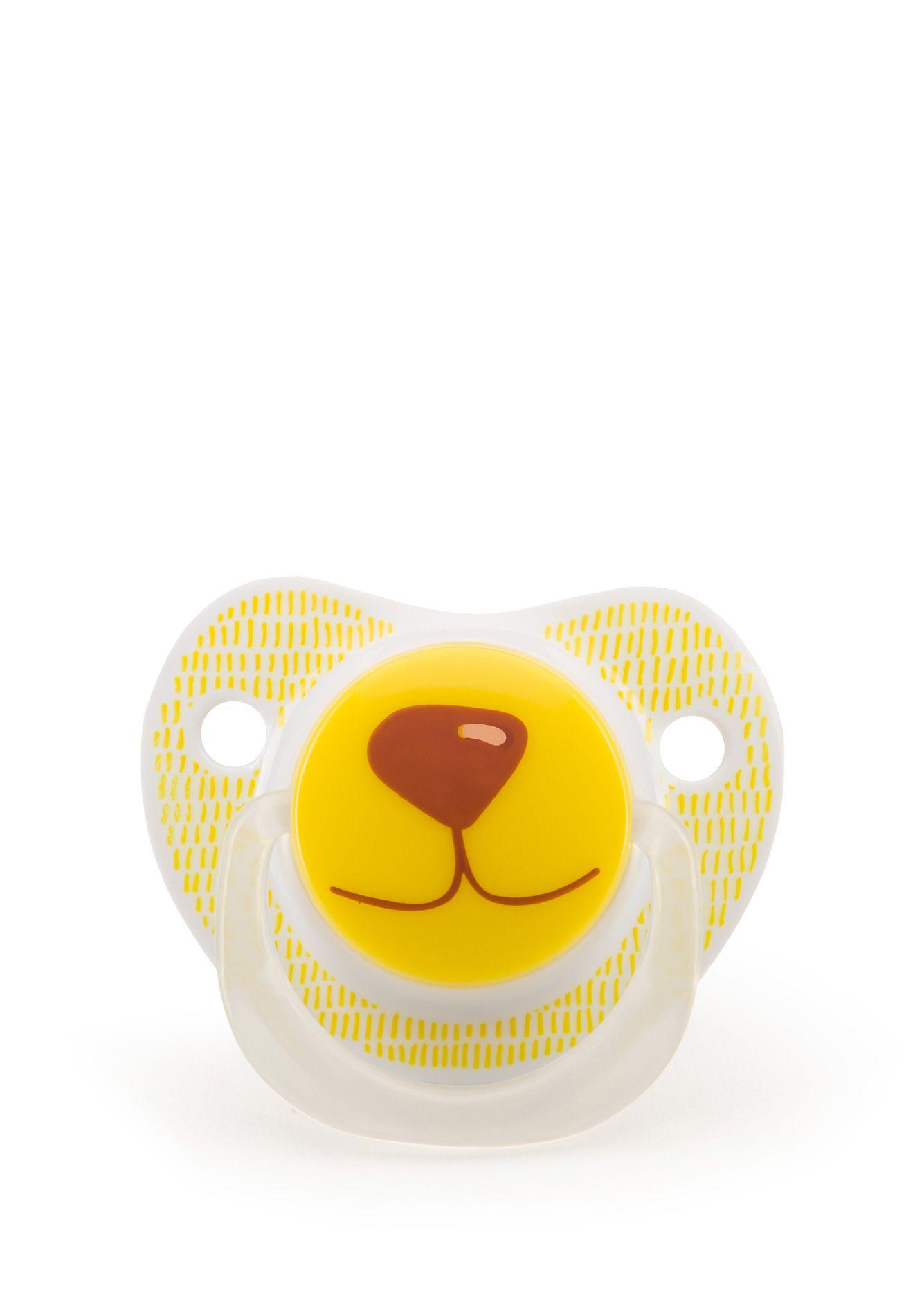 Пустышка Happy Baby 13008/1 желтый