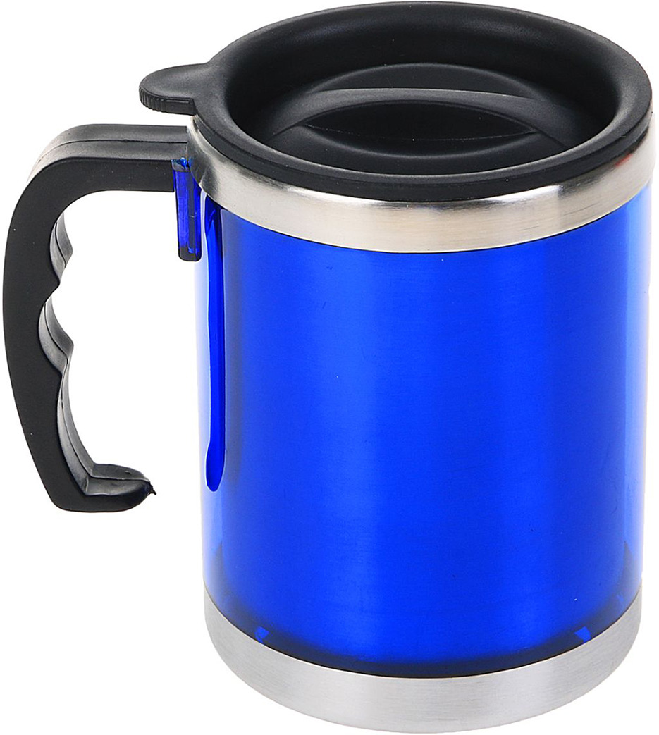 Термокружка Таллер, 450 мл, синий