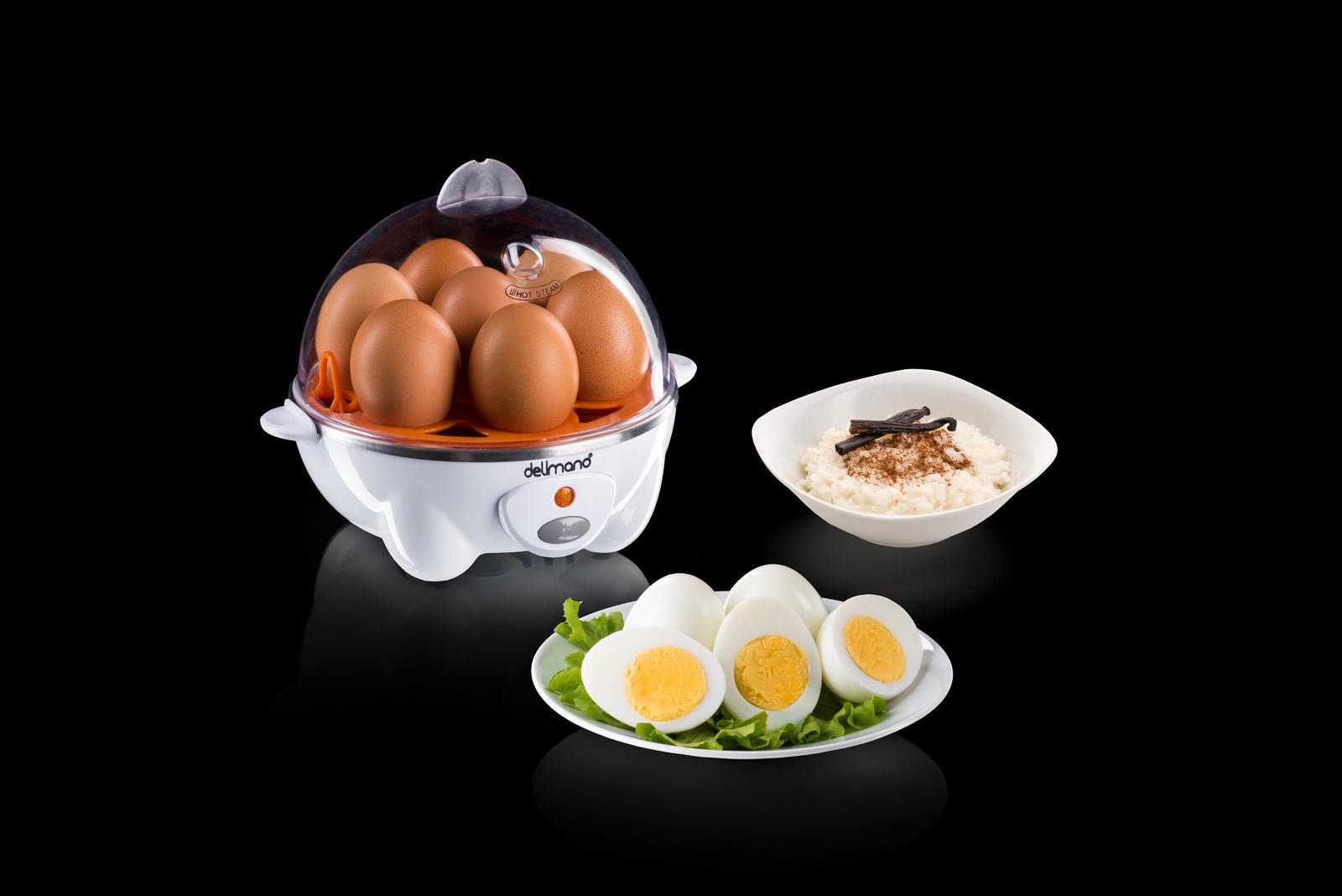 Яйцеварка Delimano Utile Egg Master Pro, белый, оранжевый Delimano